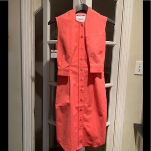 NWT Moschino Couture pink sleeveless dress. Size 4